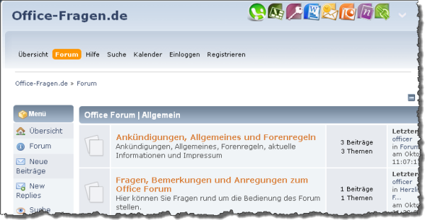 Office-Fragen.de - Forum rund um Microsoft Office
